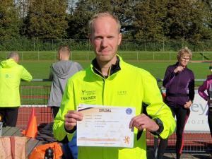 Diploma uitreiking Björn Poelman